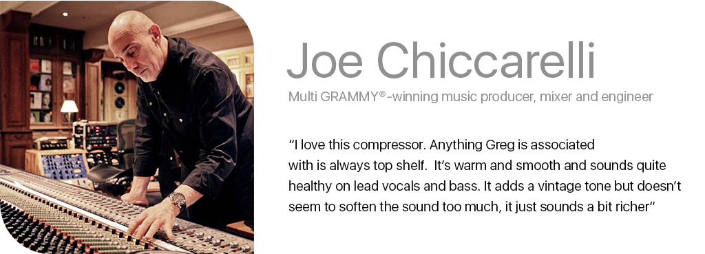 Joe chiccarelli quote new